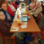 Our Primetimers enjoying a meal at The Ryan's Steak House!