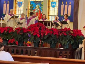 Our choir during Advent