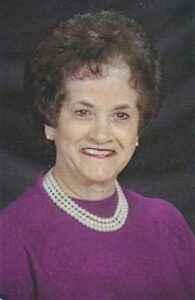 Doris Freeman: President of UMW/Worship Chair